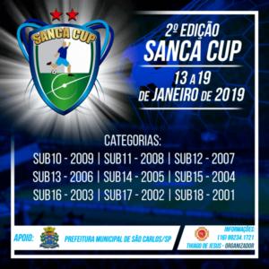 SÃO CARLOS JÁ VIVE A EXPECTATIVA DA MAIOR COPA DE FUTEBOL DAS CATEGORIAS DE BASE: A SANCA CUP 2019