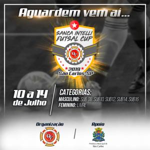Sanca Intelli Futsal Cup reunirá equipes de toda a região