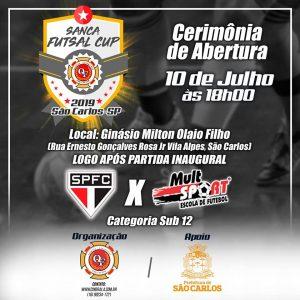 Sanca Futsal Cup' inicia hoje com confronto do São Paulo FC X Mult Sport