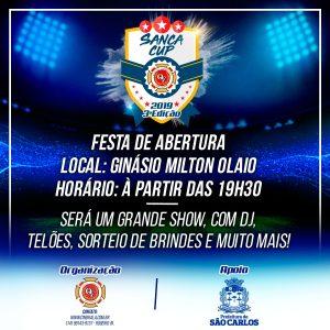 """Festa no """"Milton Olaio"""" marca a abertura da 'gigante' Sanca Cup – edição de julho"""