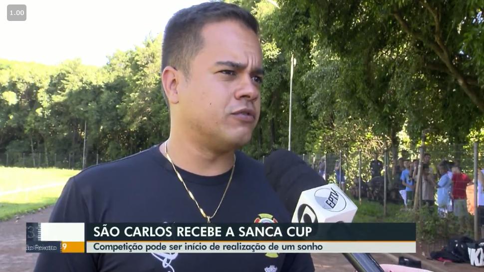 SANCA CUP É DESTAQUE NO JORNAL DA EPTV 1ª EDIÇÃO