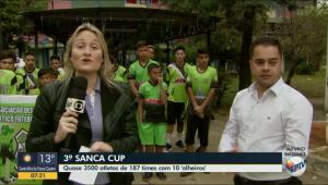 SANCA CUP É DESTAQUE NO BOM DIA CIDADE, DA EPTV