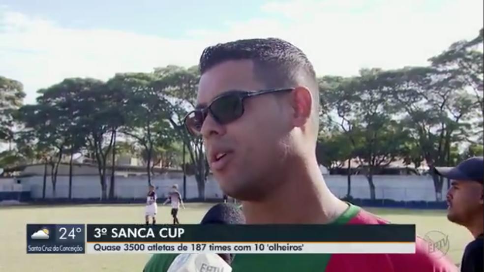 JORNAL DA EPTV ENALTECE REALIZAÇÃO DA 3ª EDIÇÃO DA SANCA CUP